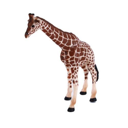 Creative 3D Giraffe Animal Figure Model Preschool Toy Plastic Model Toys T