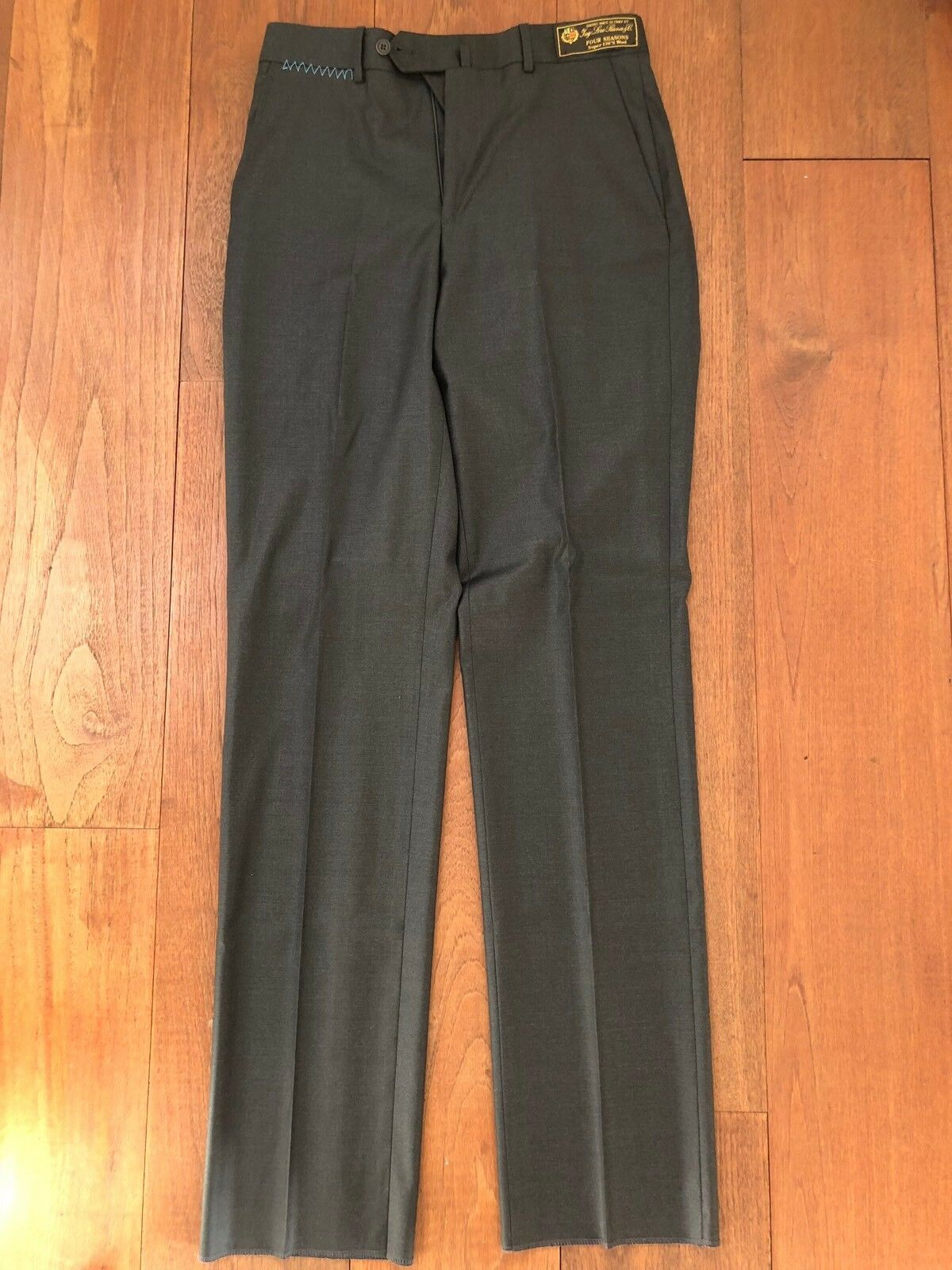 Peter Millar Mens Trousers size 30  Wool  Charcoal