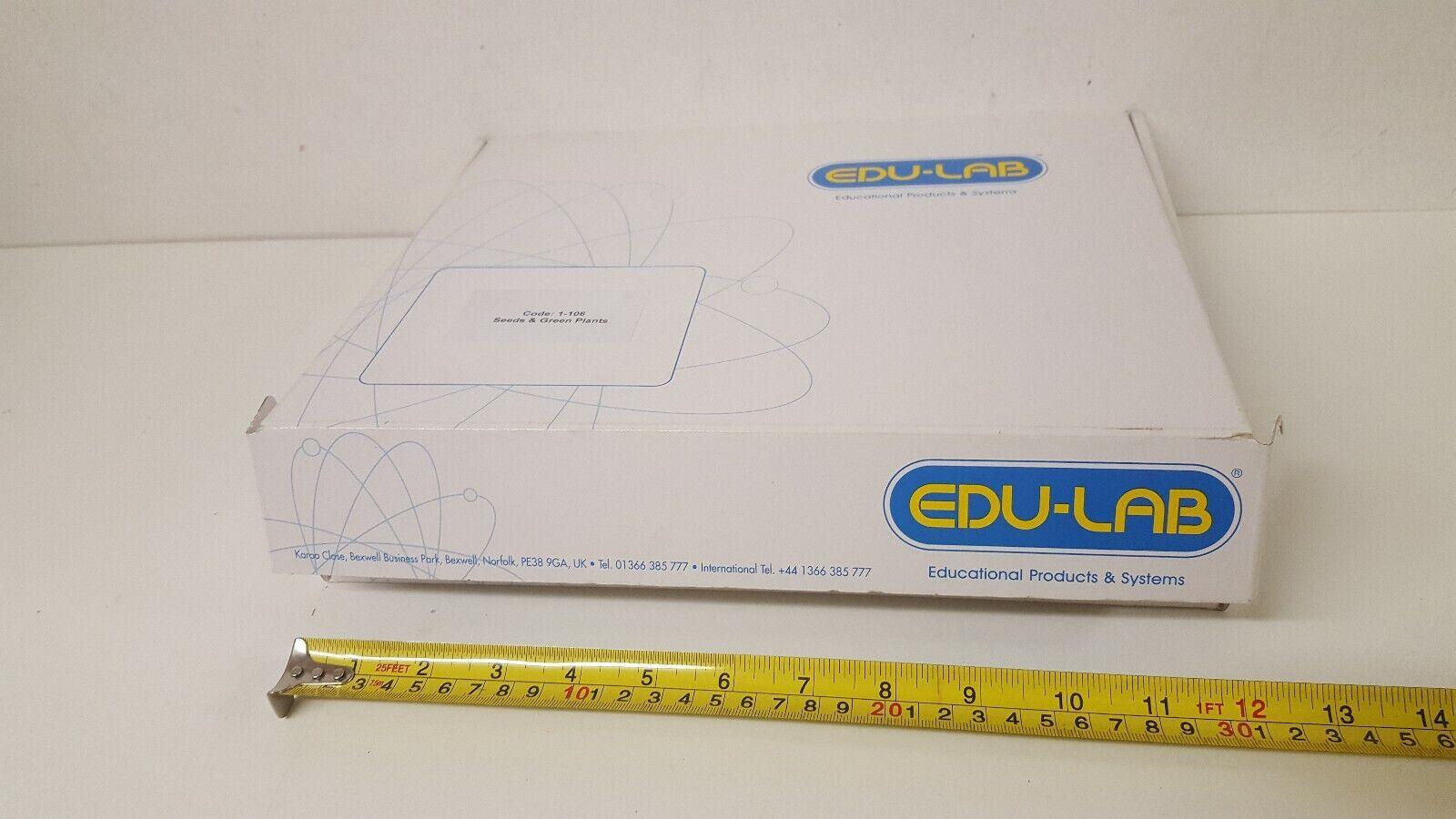EDU-LAB Science Kit Code 1-106 Seeds & Green Plants Experiments