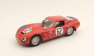 Meilleur Modèle 9451 - Alfa Romeo Tz2 Sebring 1966 N ° 62 Bianchi 1/43