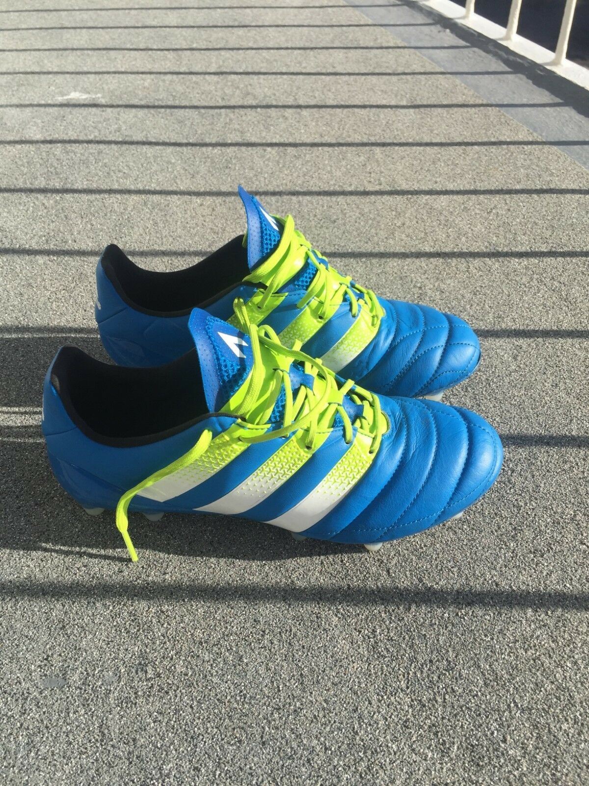 Adidas Leather Ace 16.1 SG Football Boots Size 7.5
