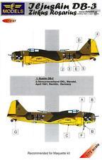LF Models Decals 1/72 ZIRKUS ROSARIUS ILYUSHIN DB-3 Bomber