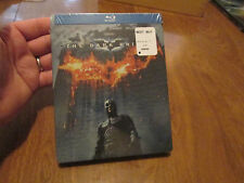 The Dark Knight Blu-ray Disc STEELBOOK EDITION BATMAN NEW FACTORY SEALED RARE