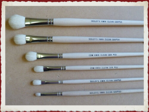 KTBRKC CDM Kwik Clean Brush Kit - 6 brushes ex Seeleys