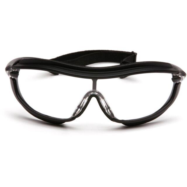 dd1327d5e26 Pyramex Xs3 Plus Clear Lens Job Sport Anti-fog Safety Glasses ...