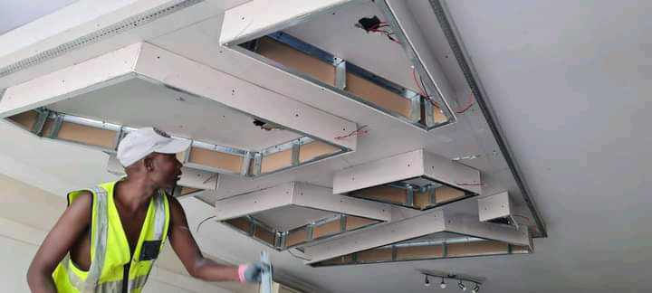 CEILING BOARD AND DRYWALL PARTITIONS/BULKHEADS CEILING