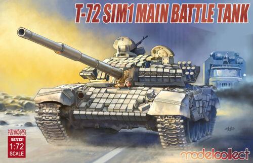 Modelcollect UA72131-1:72 T-72 SIM1 Main Battle Tank