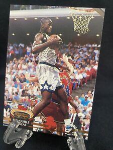 1992-93 STADIUM CLUB SHAQUILLE O'NEAL ROOKIE RC #247 Shaq RC MAGIC Lakers 🔥📈🔥