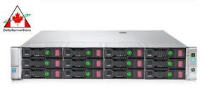 HP-Proliant-DL380p-G8-LFF-Server-2x-E5-2650-V2-2-60Ghz-96GB-RAM-2x-600GB-15K
