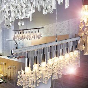 Dettagli su Lampadario a sospensione Soggiorno moderno design camera o per  cucina LUX 143477