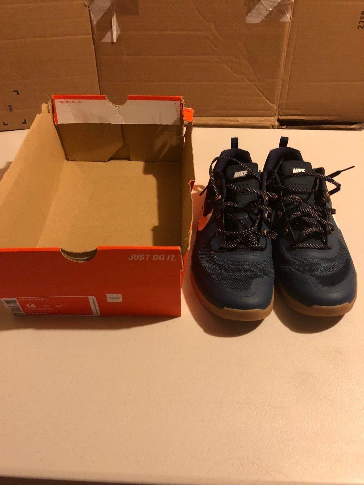 Nike metcon blu sz sz blu 14 vnds sportivo nikelab in formazione f2eeb0