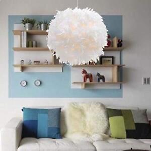 Moderne-boule-de-plume-lumiere-abat-jour-plafonnier-lampe-suspension-de-salon