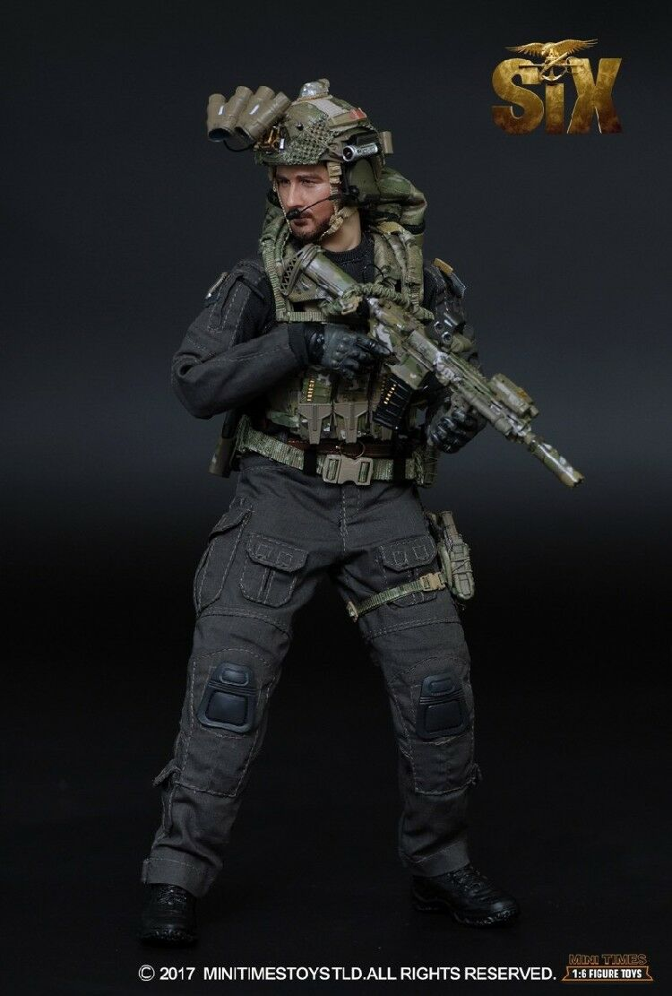 Mini times toys MT-M008 1/6th US Navy SEAL Team Six Solider Male Figure Model