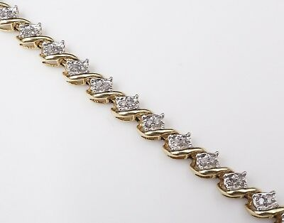 Zales 10k Yellow Gold 1ct S Link