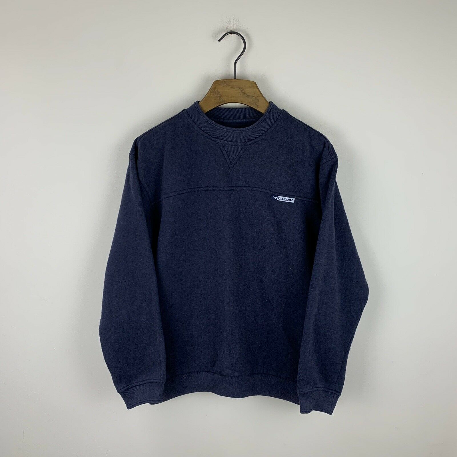 Vintage 90s Diadora Crew Neck Sweatshirt Size Men's Small