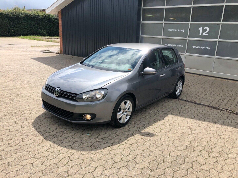 VW Golf VI 2,0 TDi 110 Comfortline 5d - 69.900 kr.