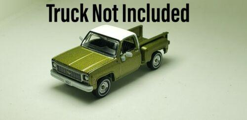 OEM mirror set for 1//64 Autoworld 1973 Chevy Cheyenne Stepside//Fleetside Truck