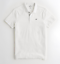 Hollister-men-039-s-short-sleeve-Stretch-Shrunken-Collar-Slim-Fit-Polo-logo miniature 10