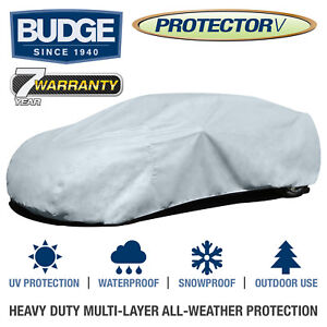 Budge Protector V Car Cover Fits Cars up to 19' Long   Waterproof   Breathable