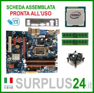 PEGATRON IPMMB-MQ1 + i7-3770 + 8GB RAM   Kit Scheda Madre 1155 I/O #2428