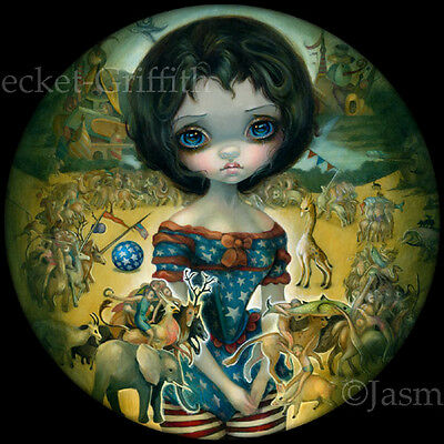 Jasmine Becket-Griffith art print surreal goth contemporary SIGNED Bosch Circus