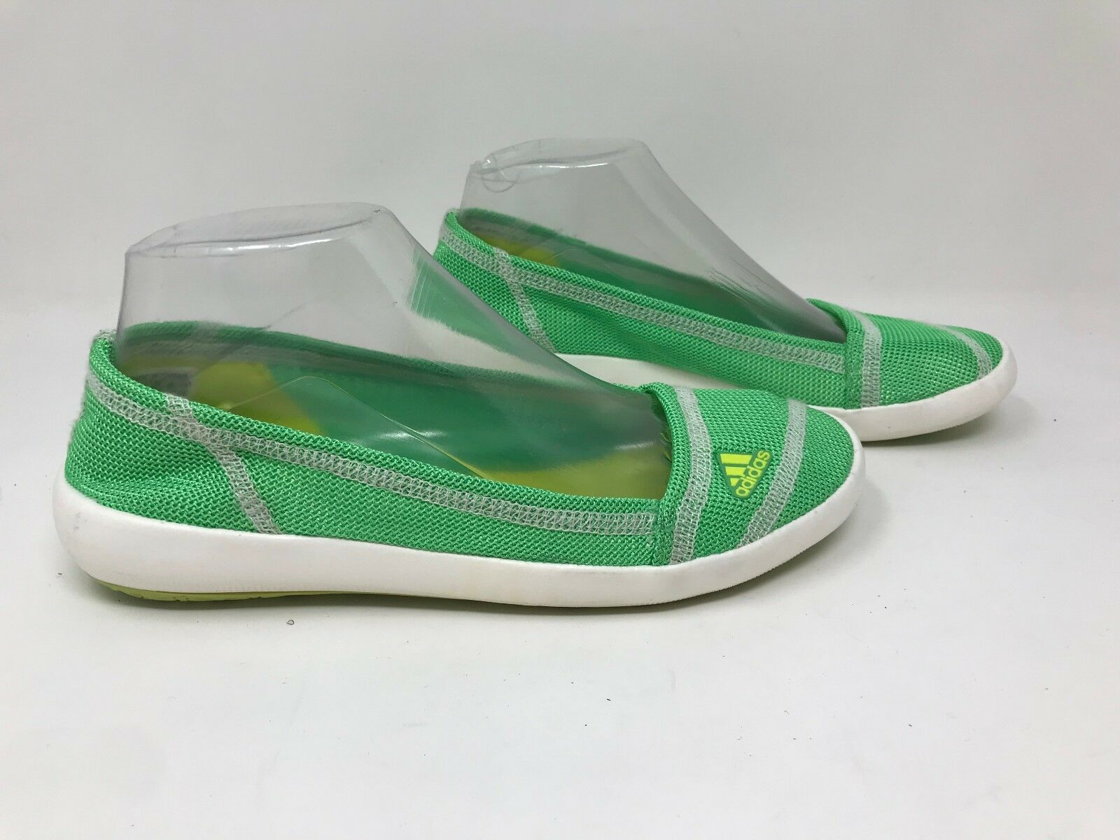 Di nuovo le adidas barca scivola su acqua scarpe eleganti sz 7 verde   giallo b35541 f12 | Di Alta Qualità E Poco Costoso  | Uomo/Donna Scarpa