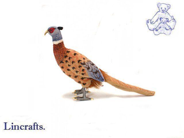 Hansa Pheasant 3846 Plush Soft Toy Bird Sold by Lincrafts Established 1993