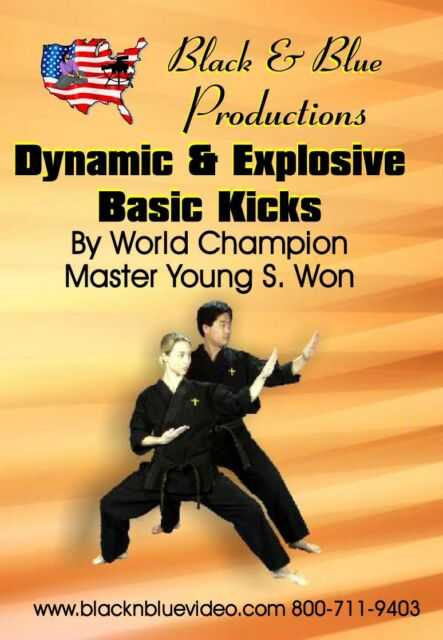 Dynamic and Explosive Basic Kicks By Master Young Won Instructional