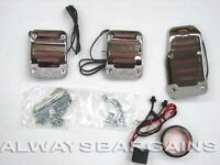 Megan Chrome Neon Light Pedals Volkswagen Beetle Rabbit Cabriolet Red Mt