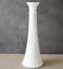 "thumbnail 2 - Set of 2 Vintage Anchor Hocking 1071 Pressed White Milk Glass Bud Vase 9"""