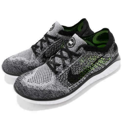 Fabriksnye Nike Free 4.0 Flyknit Men's Running Shoes, Size 10.5 - Black/Hyper QQ-47