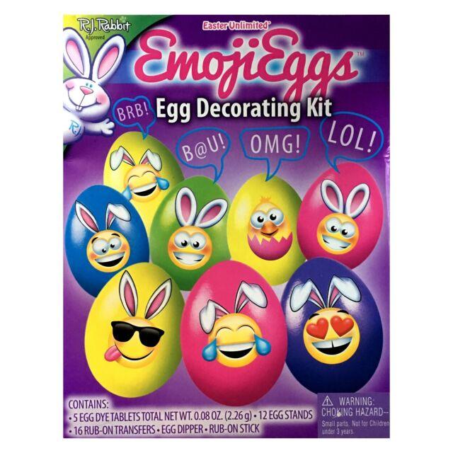 EASTER UNLIMITED/R.J. RABBIT* (1) Egg Coloring Kit DECORATING Kids *YOU  CHOOSE*