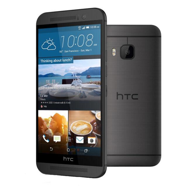 HTC One M9 32GB 4G LTE Android Smartphone Unlocked 20MP M9u ExDemo Gunmetal Gris