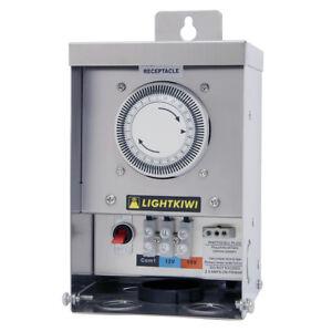 Lightkiwi-MultiTap-Outdoor-Low-Voltage-Landscape-Lighting-Transformer-75W-600W