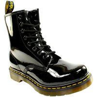 Dr Martens Women's 8 Eyelet Black Boot -11821011