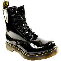 Dr Martens Women's 8 Eyelet Black Boot -11821011