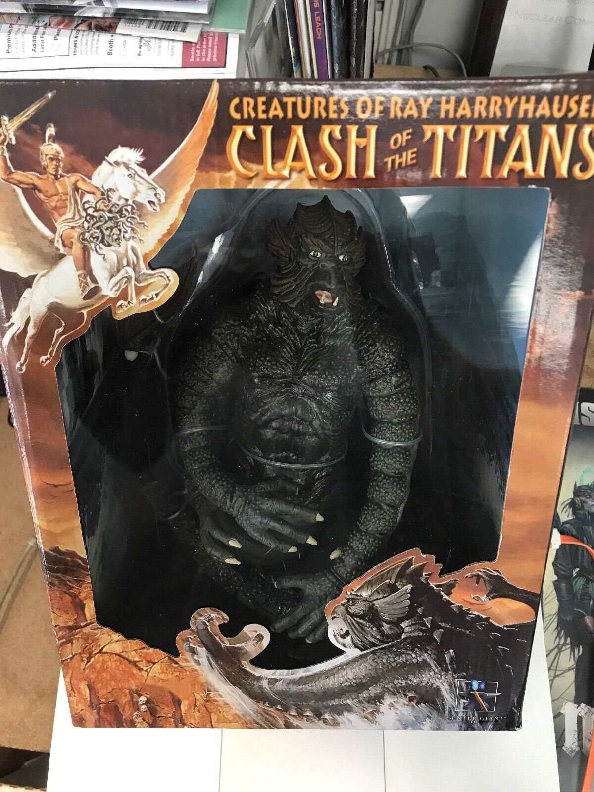 Harryhausen;s Clash of the Titans Kraken, secretato in scatola, RARE