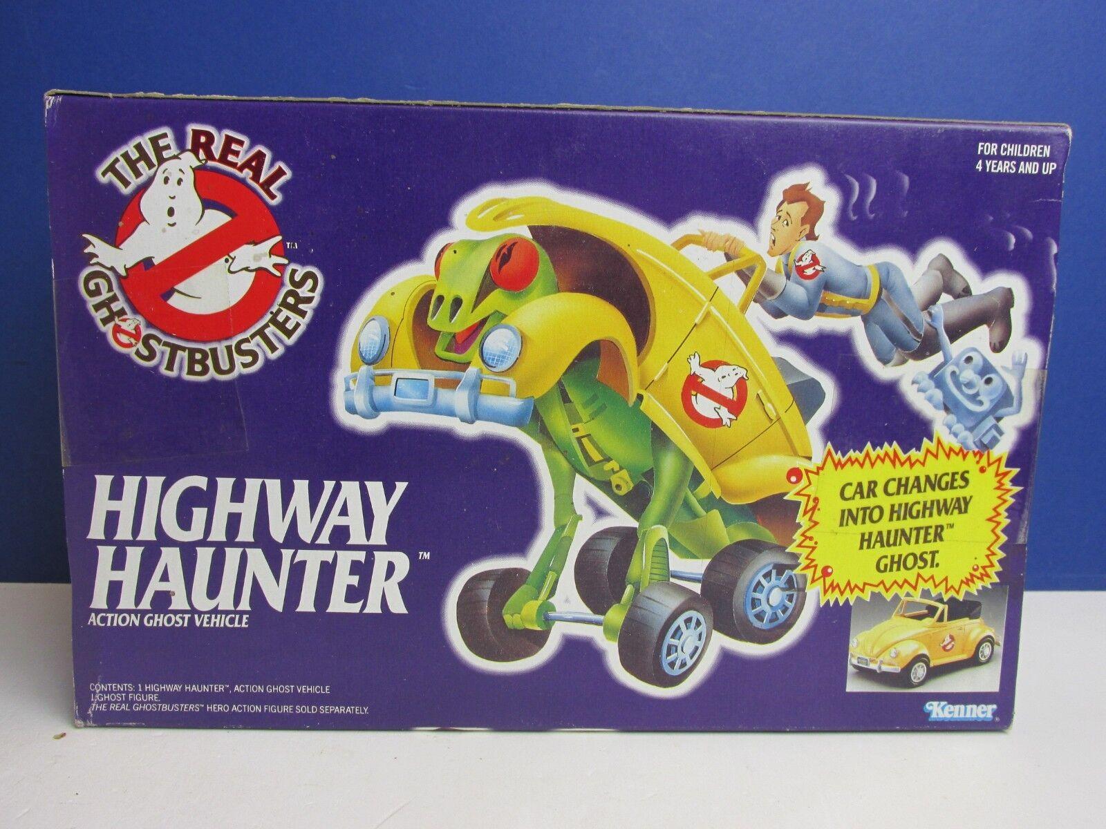 SEALED vintage GHOSTBUSTERS HIGHWAY HAUNTER CAR ORIGINAL KENNER MISB toy 49C