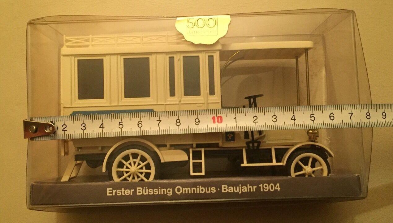NEU Cursor 982, PMS 67-02, 1.Büssing Omnibus Omnibus Omnibus Bj.1904,  500 Jahre Post  Rarität  | Spaß  9b15a4