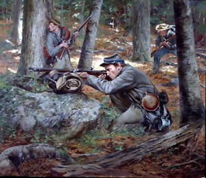 034-Confederate-Sharpshooters-034-Don-Troiani-Civil-War-Giclee-Canvas