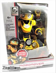 ROBOROVER-2008-15-034-Interactive-Remote-RC-Robot-WowWee-Robotics-Mint-Boxed-2000s