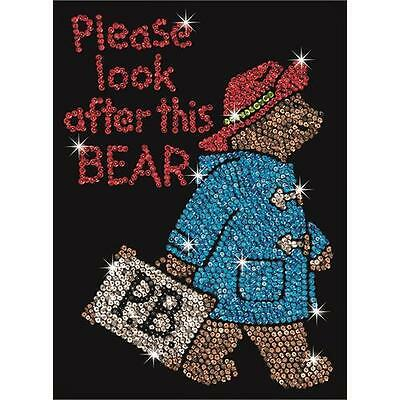 Sequin Art Paddington Bear Craft Kit 1323 New FREE Postage
