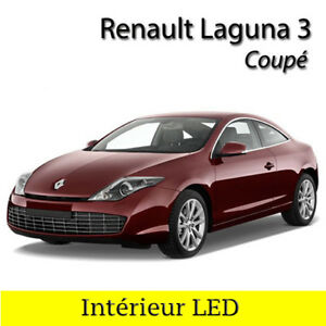 Complete Kit light bulbs LED Interior White for Renault Laguna 3 ...