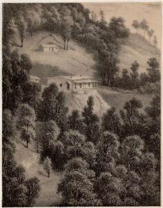 Indien-Haus-European-Shimla-Alexei-Saltykov-Soltykoff-Lithografie-19-Jhd