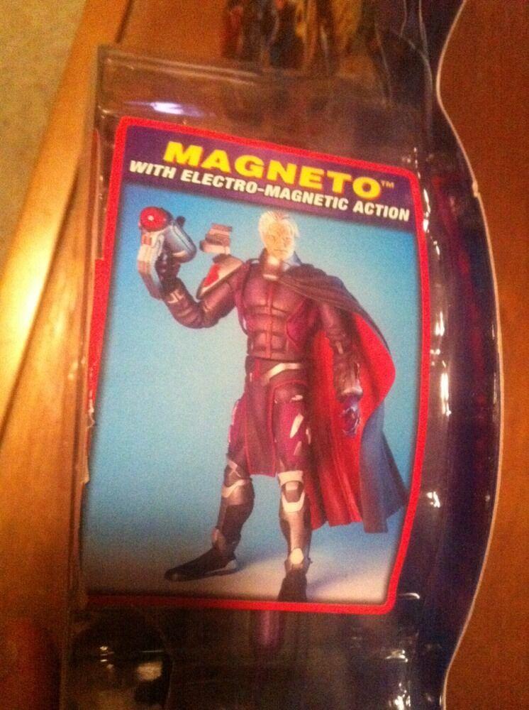 NEW X-Men Marvel Super Poseable MAGNETO Eric Lensherr No Helmet Helmet Helmet Figure RARE 217b8c