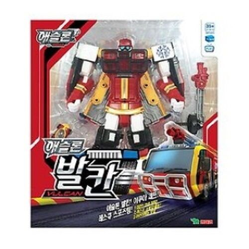Youngtoys Tobot Athlon Vulcan Transformer Robot