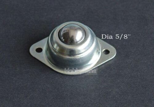 5pcs Dia 5//8/'/' CY-15A Ball Metal Transfer Bearing Unit Conveyor Roller New