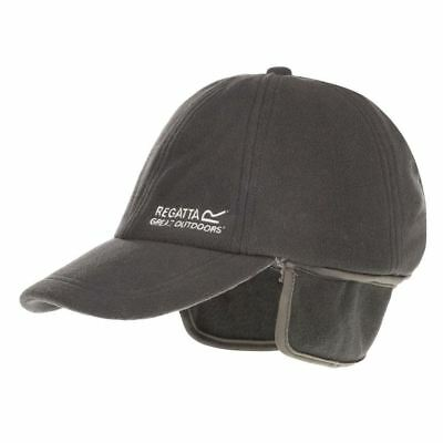 Regatta Hat Headware Warm Fleece Lining Work Winter Hiking Outdoor Peak Flap Cap
