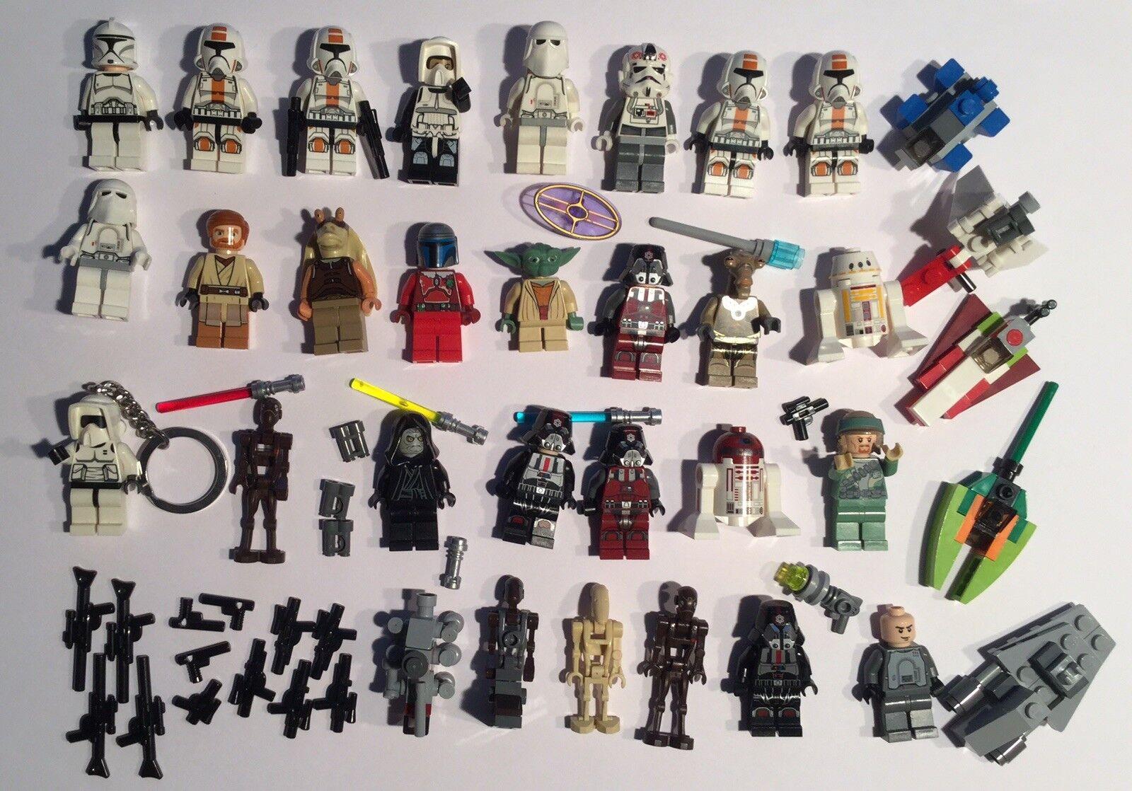 Lego Star Star Star Wars Figuren Konvolut fast unbespielt 7a66e7