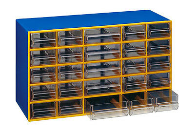 """Cassettiera portaminuteria monoblocco 25 cassetti MOBIL PLASTIC mod.""""polo T/25"""""""